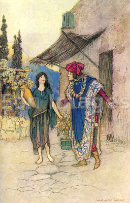 Griselda and the Duke by Warwick Goble