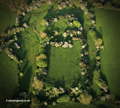 Sauvey Castle, Launde from the air