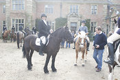 Royal Artillery Hunt, Heale House 10 March 2012