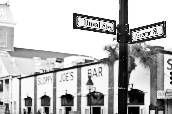 Key West & Florida Keys - Black and White Photos Stock Photos Canvas Framed Fine Art Prints