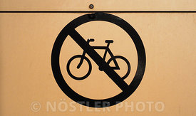 No bicycle on the wall