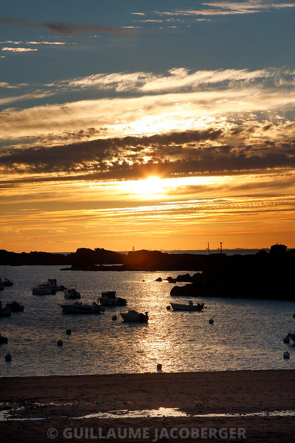 Brittany Sunset & Sunrise Art Photographs