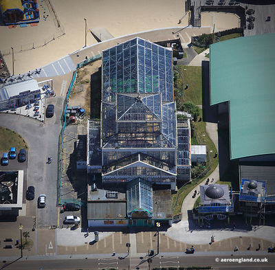 aerial photograph of the Winter Gardens in  Great Yarmouth.