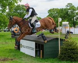 Arabella Clegg and CASTLEMITCHELL RUBY - Rockingham Castle International Horse Trials 2016
