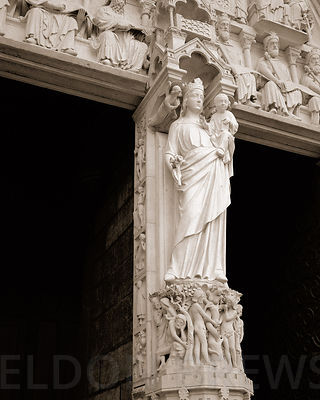 Statuary, Notre-Dame