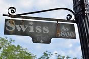 Swiss Avenue Street Sign in Dallas, TX
