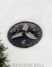 CTC Winged Wheel, Cowbridge, Vale of Glamorgan, South Wales.