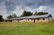 Primary school in rural Kenya.