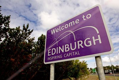 Welcome to Edinburgh Sign