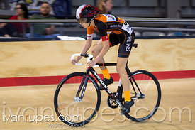 U17 Women Omnium Time Trial. 2015 Canadian Track Championships, October 11, 2015