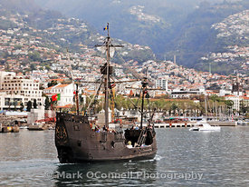 Pirate ship in Madeira
