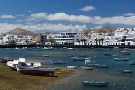Charco De San Gines, Arrecife, Lanzarote, Canary Islands, Spain.