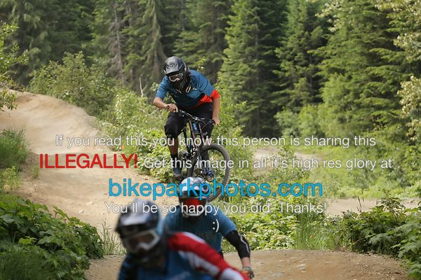 Sunday June 24th - ALine First Hit bike park photos