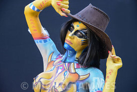 REPORTAGE BODY-PAINTING ABANO TERME