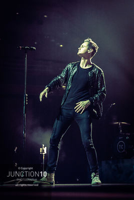 Tom Chaplin - Symphony Hall photos