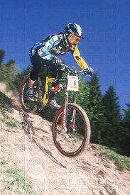 MARLA STREB LES GETS, FRANCE. TISSOT MOUNTAIN BIKE WORLD CUP 2000