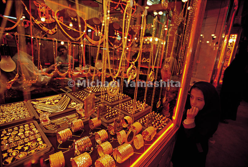 The bazaar in Tabriz is still famous for its jewelery and gold and silver ornaments.