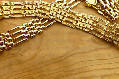 Jewelry on wood background