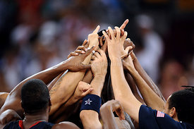 Beijing 2008 Olympics - Basketball - USA Wins Gold