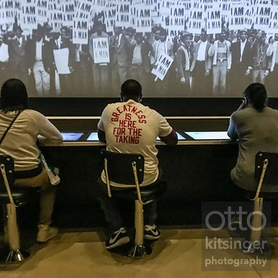 Interactive Greensboro lunch counter, National Museum of African American History & Culture