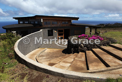 Parque Nacional Visitor Centre at Rano Kau Crater, Easter Island
