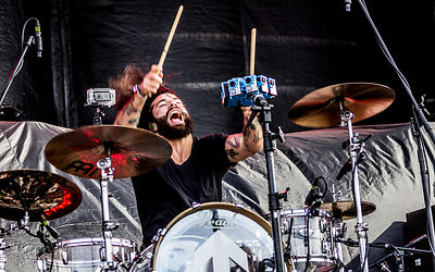 Chachi Riot, drums, Pop Evil
