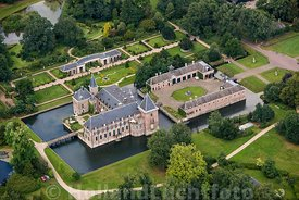 Delden - Luchtfoto kasteel Twickel 04