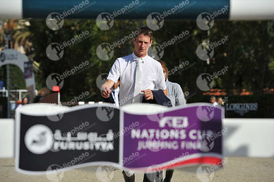 Daniel DEUSSER ,(GER) during Coca-Cola Trofey competition at CSIO5* Barcelona at Real Club de Polo, Barcelona - Spain