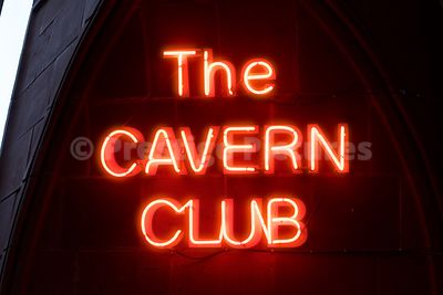 The new Cavern Club Neon SIgn