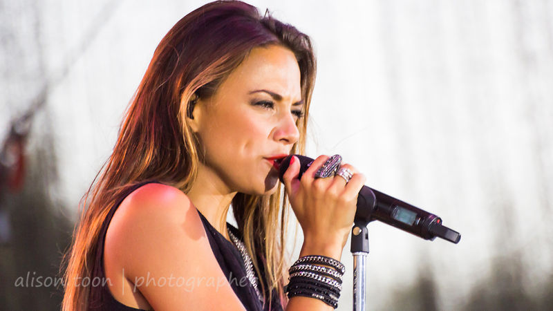 Jana Kramer at California State Fair, 2014