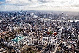 Aerial Photography Taken In and Around Westminster, London