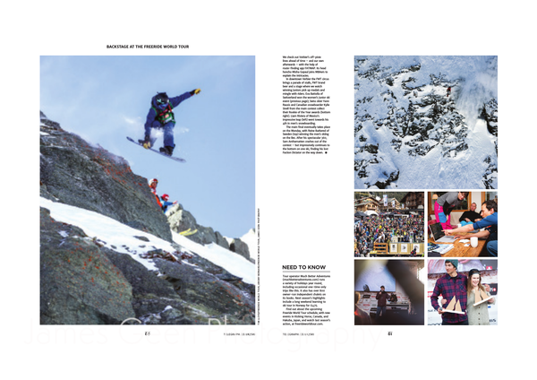 Daily Telegraph Freeride World Tour