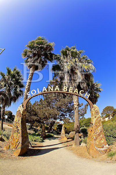 Solana Beach Sign Photo