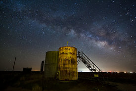 Milky Way and Oil Tanks #2