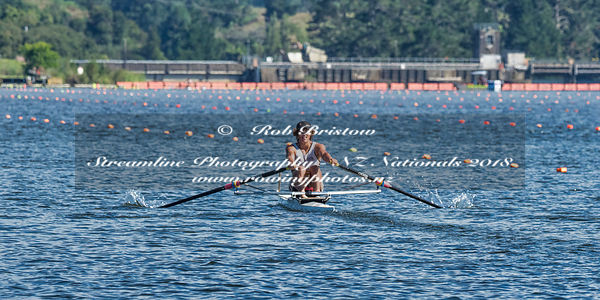 Taken during the National Championships 2018, Lake Karapiro, Cambridge, New Zealand; ©  Rob Bristow; Frame 0851 - Taken on: Thursday - 15/02/2018-  at 09:25.53