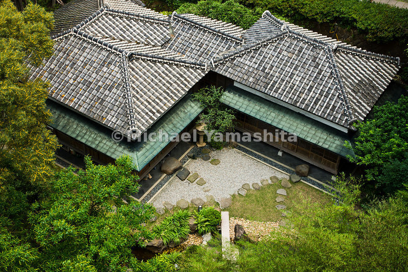 Beitou, Taiwan's best known spa town built by the Japanese. Pics of Taiwan Folk Arts Museum, former Japanese hot spring inn built in 1921.