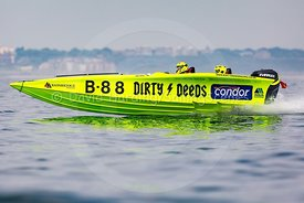 Dirty Deeds, B88, Fortitudo Poole Bay 100 Offshore Powerboat Race, June 2018, 20180610232