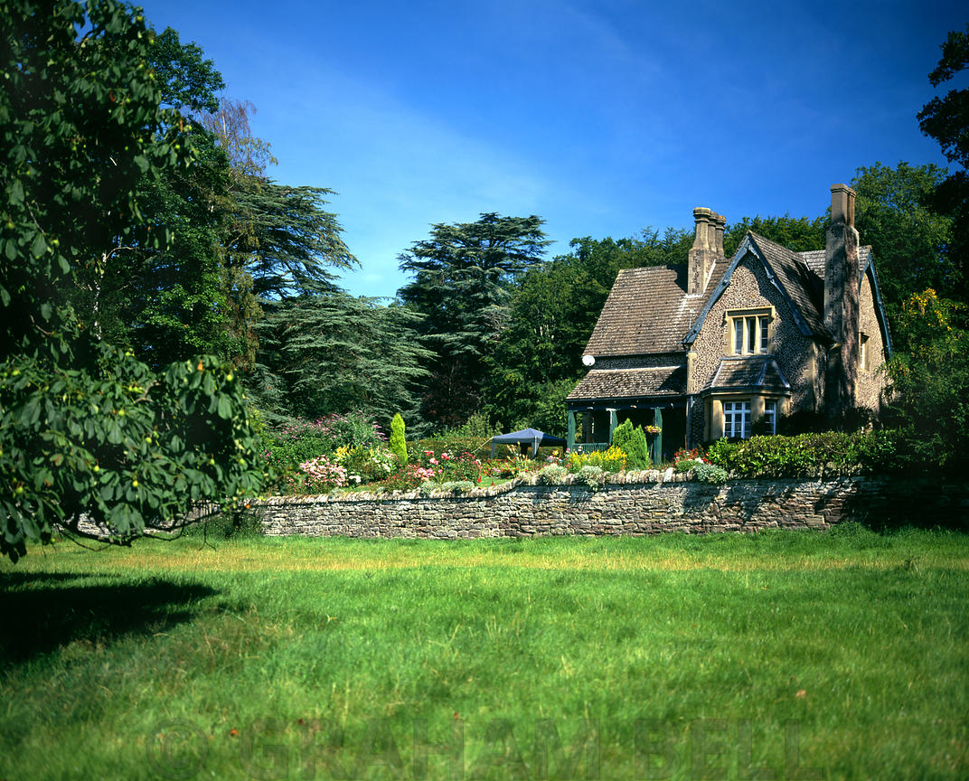 Country house, Byford, Herefordshire, England.