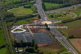 Aerial view - Ballymartin Park and Ride