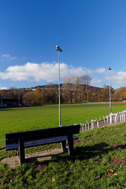 Pontypool park home of Pontypool rugby club, Torfaen, South Wales.