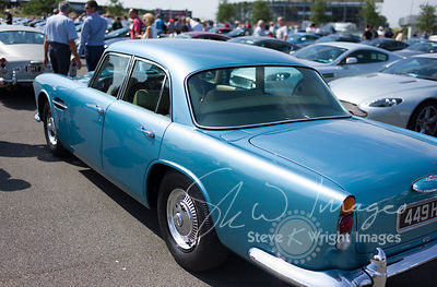 Aston Martin Lagonda Rapide Saloon - Part of the Aston Martin Centenary at the Silverstone Classic 2013