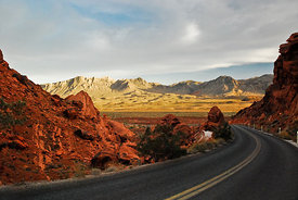 Road to the Valley of Fire