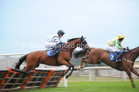 Wed 21st Aug 2013 Conditional Jockeys Handicap Hurdle with winner Dreamsoftheatre