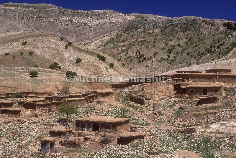 380 Kurds live here in this farming village with no electricity. Sharawa