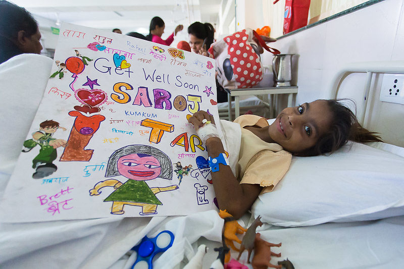 It's a big, difficult task to successfully facilitate a major surgery like Saroj's