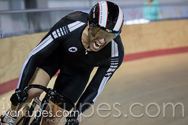 Master A Men Sprint Qualification. Ontario Track Provincial Championships, March 5, 2016