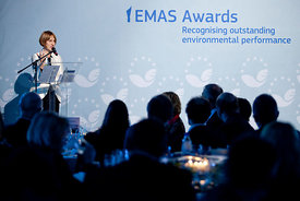 29 Nov 2012 - Brussels (Belgium) - EMAS Awards 2012 ceremony. © BERNAL REVERT