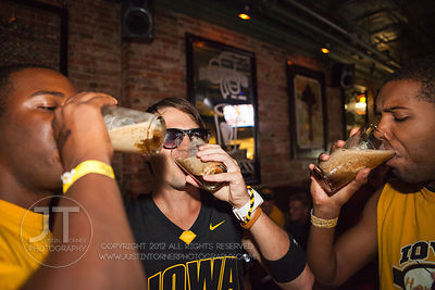 Iowa City Nightlife, Saturday September 8th, 2012; Donnelly's, 110 East College Street  Iowa City, IA (Justin Torner/Freelance)
