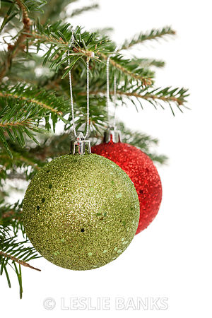 Two Christmas Ornaments