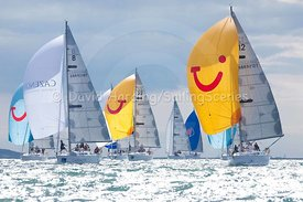 Sunsail 37s in Cowes Week